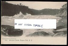 Original Postcard Whirpool Rapids Niagara Falls New York
