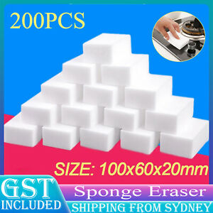 200X Nano Strong Magic Sponge Eraser Foam Multi-functional Cleaner Pads AU STOCK