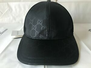 Gucci  Size L - 59 см  Baseball Black Cap  Made in Italy