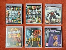 USED - JOB LOT of 6 ADVENTURE SHOOTING games - for Sony PlayStation 3 PS3