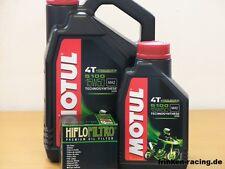 Motul Öl 5100 15W50 teilsyn / Ölfilter Victory Jackpot / Judge ab Bj 2013
