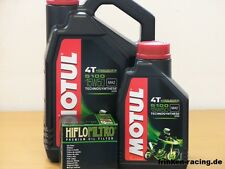 Motul Öl 5100 15W50 teilsyn / Ölfilter Indian Chief alle / Roadmaster ab Bj 15