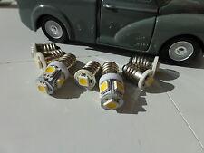 Morris Minor Traveller Dash light bulbs 7 LED E10 Original Look Warm White Set