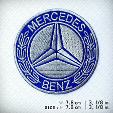 MERCEDES BENZ EMBROIDERED PATCH IRON ON Racing Decorate Clothes D.I.Y Top Class