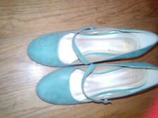 Mid Heel (1.5-3 in.) Unbranded Faux Leather Upper Bridal Shoes