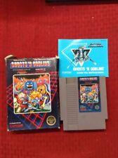 Ghosts 'n Goblins (Nintendo, NES) In Box