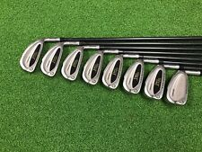 NICE Spalding Golf PRO CALIBER PLUS Bi Metal Iron Set 3-PW Right Graphite STIFF