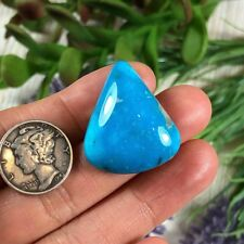 37 Carats Turquoise Mountain Turquoise Cabochon