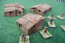 New! 3 x 15mm Shantys    Wargaming Terrain AK47 District 9 Sci-fi