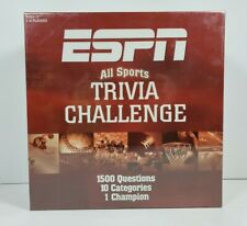 ESPN All Sports Trivia Challenge Game 1500 Questions 2005 USAopoly - New, Sealed