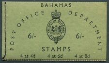 Bahamas - 1961 - 5/- Booklet - SG# SB3 - SG CV £35