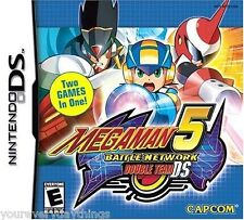 Mega Man Battle Network 5 DOUBLE TEAM - Nintendo DS NEW SEALED 2 GAMES IN 1