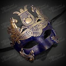 Mens New Greek Roman Warrior Gladiator Hercules Venetian Theatre Masquerade Mask