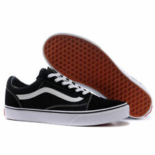ad9369c3a11c9a VAN Old Skool Skate Shoes Black White All Size Classic Canvas Sneakers  UK3-UK9