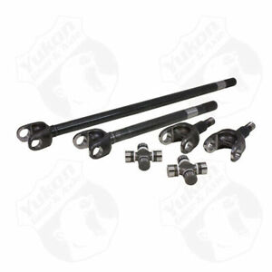 USA Standard 4340 Chrome-Moly replacement axle kit for '88-'98 Ford 60 front
