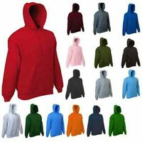 Mens Classic Hooded Sweatshirt Size XS to 4XL HOODIE For SPORTS WORK CASUAL 502