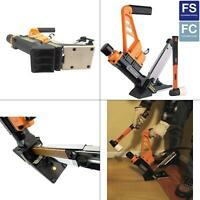 Lightweight Pneumatic 3-in-1 15.5-Gauge and 16-Gauge 2 in. Flooring Nailer and