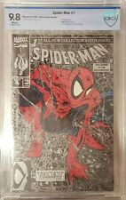 Spider-Man #1 (1990) Silver Cover Blue Lizard variant: CBCS 9.8 !ONLY 3 EXIST!