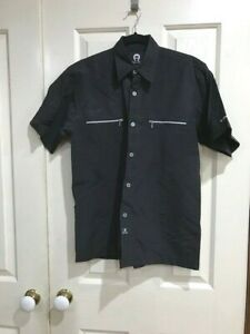 Boys to Men`s Size M Aigner Black Shirt