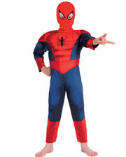 Polyester Complete Outfit Costumes for Boys Spiderman