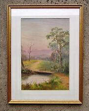 Signed Oil Painting Framed 1925