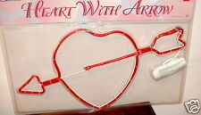 Lighted Heart With Arrow Indoor/Outdoor Valentine
