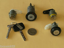 IGNITION BARREL + 2 DOORS + BOOT LOCK SUIT VN VP VR COMMODORE 09/88 - 03/95