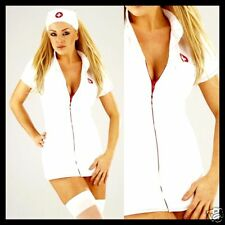 2teiliges Krankenschwester Outfit inkl Haube Größe S-XL
