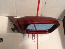 BMW 5 series 525i 535i M5 Right passenger side view mirror (burgundy) 1989 -1992
