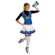 SEXY CHEERLEADER Betty Costume + Blonde Wig Adult Small 2 4 6 Archie Comic book