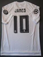 5+/5 james rodriguez real madrid jersey shirt soccer 2015/2016 official ADIDAS