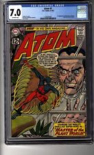 Atom # 1 - CGC 7.0 Off-White Pages - First Appearances of Plant Master and Maya