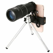 16X Zoom Optical Monocular Hunting Traveling Telescope W/Tripod & Phone Adapter