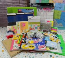 Huge Back To School Stationary Lot Office Desk Teen Over 80 Brand New Items