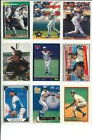 Lot 3 of (45) Roberto Alomar Cards w/ Rookies RC & Inserts MLB San Diego Padres