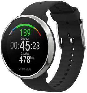 POLAR IGNITE  Advanced Waterproof Fitness Watch Heart Rate Integrated GPS Black