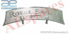 NEW ROYAL ENFIELD ALUMINIUM FRONT MUDGUARD EMBOSSED NUMBER PLATE SPARES2U