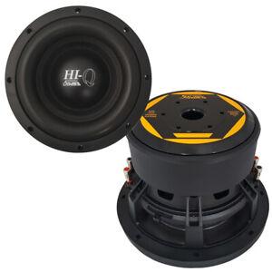"""SAVARD Speakers Hi-Q Series 10"""" Dual 2 Ohm Subwoofer"""