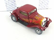 Franklin Mint Boyd Coddington 1932 Ford Deuce Coupe Hot Rod Die Cast 1/24 Scale