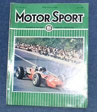 Motor Sport June 1966 Monaco GP, Targa Florio, MG, Siracusa GP, Monza 1000kms