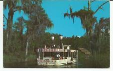ag Florida's Only Glass Bottom, Side Paddle Wheeled River Boat