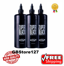 Zuper Black — Intenze Tattoo Ink — 12 oz Bottle