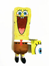 Spongebob Squarepants Yellow Plush Pencil Bag Pouch Case #021