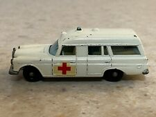 Matchbox Lesney Regular Wheels  #3-C Mercedes Benz Ambulance