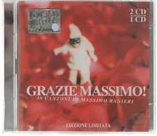 MASSIMO RANIERI GRAZIE MASSIMO! ED.LIM. - 2 CD SIGILLATO!!!