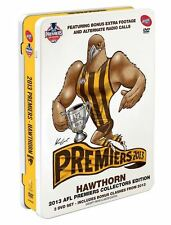 D10 BRAND NEW SEALED AFL 2013 Grand Final Premiers - Hawthorn TIN BOX (DVD Set)
