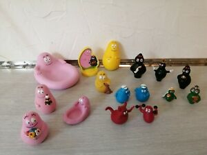 LOT DIVERS FIGURINES BD BARBAPAPA PLASTOYS ET AUTRES