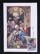 SPAIN MK 1969 NAVIDAD CHRISTMAS WEIHNACHTEN MAXIMUMKARTE MAXIMUM CARD MC c5393