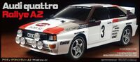 Tamiya 58667 Audi Quattro A2 4WD TT-02 - RC Kit + ESC + Stick Radio