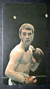 Alan Minter   British Middle-weight Boxer   Original 1970's Photo Card # CAT F